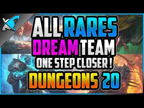 *ALL RARES* DREAM TEAM...DUNGEONS 20 !! | Viniosity Showcase | RAID: Shadow Legends
