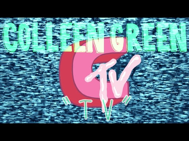 "Videoclip oficial de la canción ""TV"" de Colleen Green."