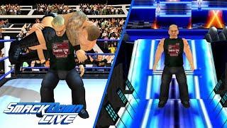 Brock Lesnar invades SmackDown Live | WR3D