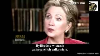 Hillary Clinton prowokuje do wojny z Rosją