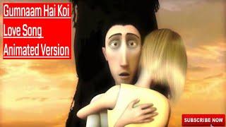 Gumnaam Hai Koi - 1920 London || Love Song Animated Version || New Love Animation Song || Music || width=