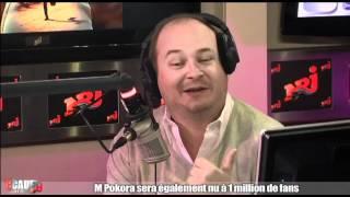 M Pokora sera nu à 1 million de fans - C'Cauet sur NRJ