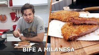 Bife a Milanesa - Cozinha Básica - OCSQN! #131