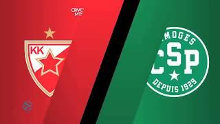 EuroCup / Top 16, R1 : Les meilleures actions de Belgrade - Limoges CSP