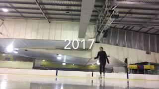 Figure Skating Progress - One year