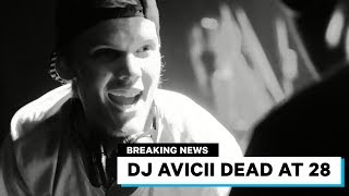 "Avicii Dead at 28 - Swedish DJ famous for ""Wake Me UP"""