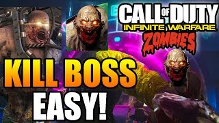 EASIEST Way to Kill the Brute Boss Zombie in 'Zombies In Spaceland!' ~ Infinite Warfare Zombies!
