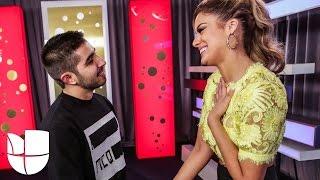 Joss Favela quedó encantado con Aleyda Ortiz