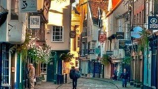 A Walk Through York, England