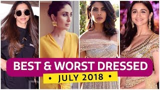 Deepika Padukone, Priyanka Chopra, Alia Bhatt: Best & Worst Dressed July 2018 | Fashion | Pinkvilla width=