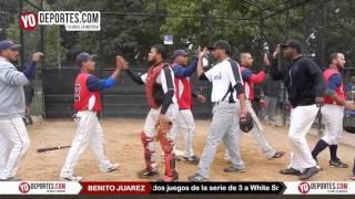 Nuevo Leon vs White Sox final Benito Juarez Baseball League