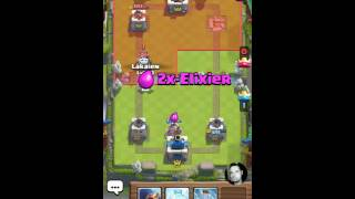 Clash Royale! Live Game! How to stop Sparky in a fast way!