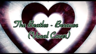 The Beatles - Because (Vocal Cover) w/Lyrics