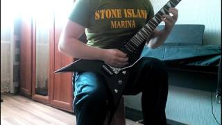 Afraid to Shoot Strangers Solo - Iron Maiden (Cover)