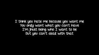 Halestorm - You Call Me A Bitch Like It's A Bad Thing (Lyrics)