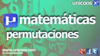 Imagen en miniatura para Combinatoria 02 - Permutaciones sin repeticion