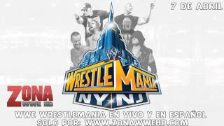 WWE Wrestlemania 29 Theme Song - Bones By Young Guns
