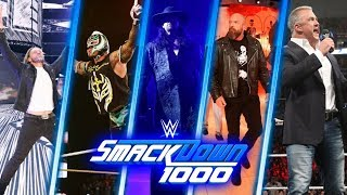 WWE SmackDown 1000 | Match Cards Predictions | Returnes