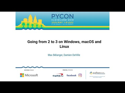 Going from 2 to 3 on Windows, macOS and Linux