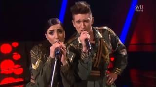 Gina Dirawi & Danny Saucedo feat. Jedward - Lipstick (Melodifestivalen 2013)