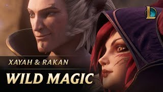 Xayah and Rakan: Wild Magic | New Champion Teaser - League of Legends width=