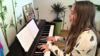 John Legend - All of Me /cover by 12-years old Lina Kuduzovic