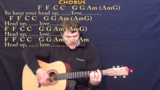 Stubborn Love (Lumineers) Strum Guitar Cover Lesson with Chords/Lyrics