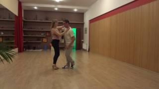 Bachata. Training fun :-) Andriy Gerega & Halia Shostak