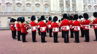 Game of Thrones theme song played by the Queen's guards