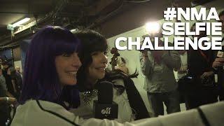 #NMA Le Selfie Challenge d'Ornella Del Rey aux NRJ Music Awards