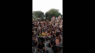 Revogar - Fragmentos (celular) Show no Rock na Praça em Esteio - 18/12/16