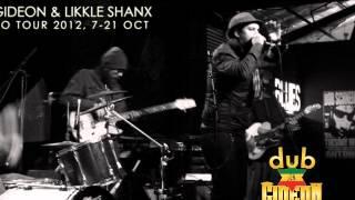 Likkle Shanx - Dub Gideon - Hermandad Rasta Live in Mexico City October 20, 2012