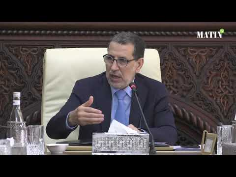 Video : Intervention de Saad Eddine El Othmani à l'ouverture du Conseil de gouvernement