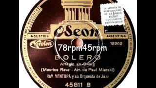 Bolero Jazz   Ray Ventura Jazz Orchester