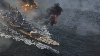 World of Warships Main Menu Video April 2016 Update - Official Game Release (No Markings)