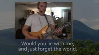 Chasing Cars (with Lyrics) -  Snow Patrol guitar cover by JD Sebastian