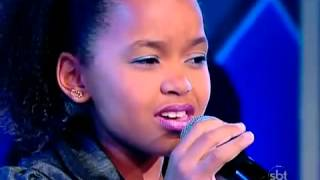 FRANCIELE FERNANDA - Olha o que o Amor me Faz   Jovens Talentos Kids - Raul Gil (01 09 12)