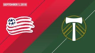 HIGHLIGHTS: New England Revolution vs. Portland Timbers | September 1, 2018