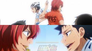 Izumida & Shinkai moment, with beautiful OST [ Yowamushi Pedal : Glory Line ]