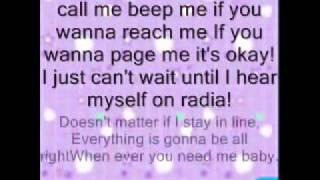 kim possible call me beep me if you wanna reach me with lyrics wmv   YouTube