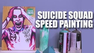 Suicide Squad Speed Painting | Mad Stuff With Rob