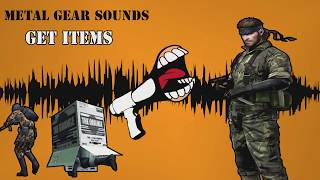 Get Item Sound - Metal Gear