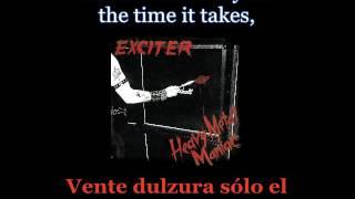 Exciter - Heavy Metal Maniac - Lyrics / Subtitulos en español (Nwobhm) Traducida