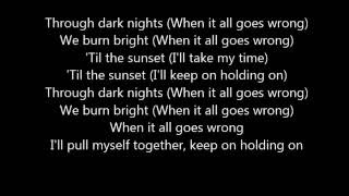 All Goes Wrong Lyrics - Chase And Status feat. Tom Grennan