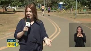 Defesa Civil emite Alerta Laranja devido a seca em Brasília