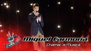 Miguel Carmona - Chamar a Música (Sara Tavares) | Gala | The Voice Portugal