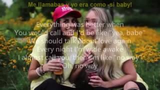 LANY - yea, babe, no way Lyrics - Subtitulado Español