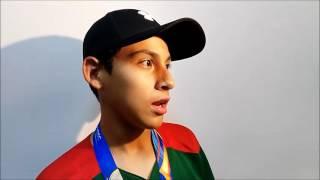 Con medalla de Bronce regresan a casa Cesar Monjaras  y Eliseo Gutiérrez