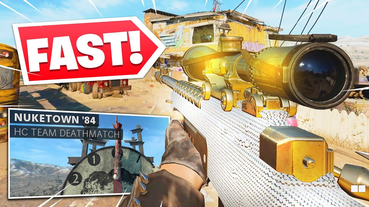SoaR Depv - the FASTEST NUKETOWN SNIPING you'll EVER see.. (Black Ops Cold War)
