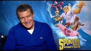 Antonio Banderas Talks 'The SpongeBob Movie: Sponge Out of Water'
